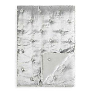 New Diamond Quilted Iced Velvet Throw Blanket